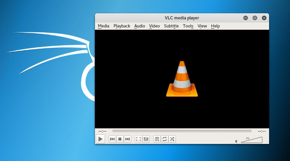 How to Install Video Player VLC on Kali Linux - LEZR WEB